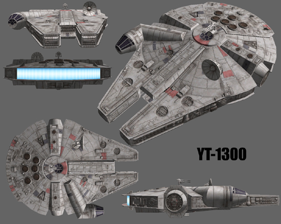 Star Wars Galaxies Ships Yt 1300 Transport